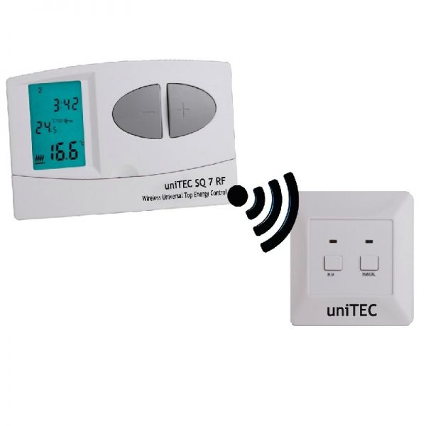 uniTEC digitalni termostat SQ7 RF - Inelektronik