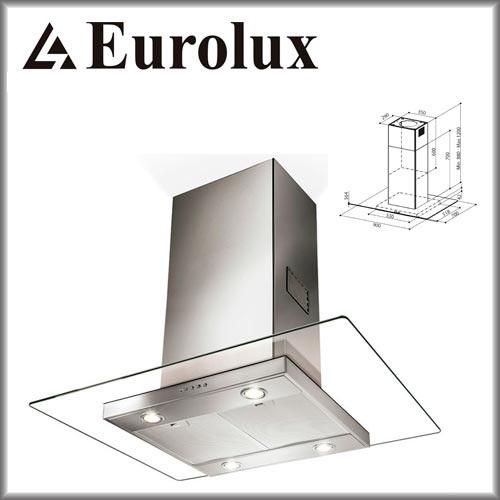 eurolux faber glassy isola eg10 pb x v a90 inelektronik. Black Bedroom Furniture Sets. Home Design Ideas
