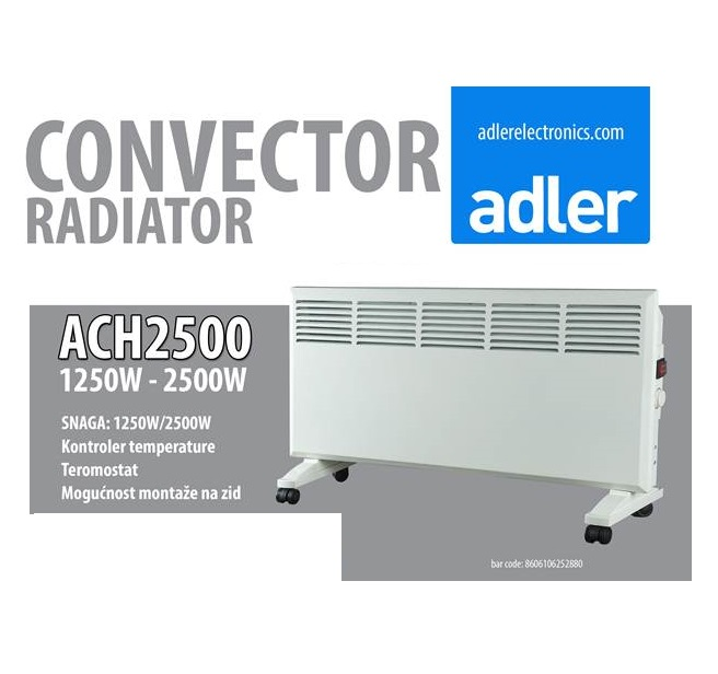 Adler  konvektorska grejalica ACH 2500 - Inelektronik