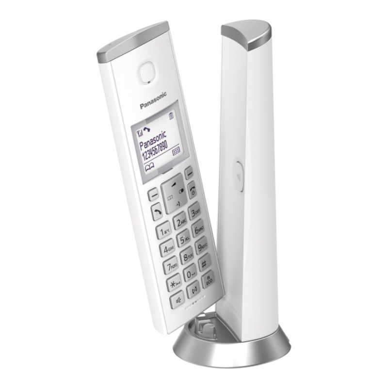 Bežični telefon Panasonic KX-TGK 210 FXW Beli - Inelektronik