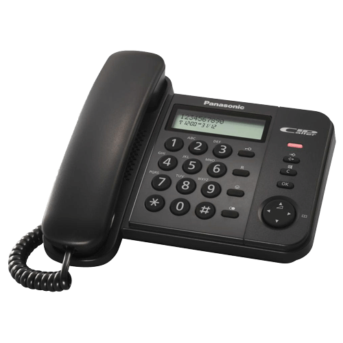 Panasonic  žični telefon KX-TS560FXB - Inelektronik