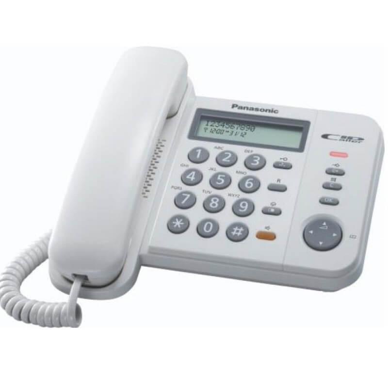 Panasonižični telefon    KX-TS580FXW      - Inelektronik