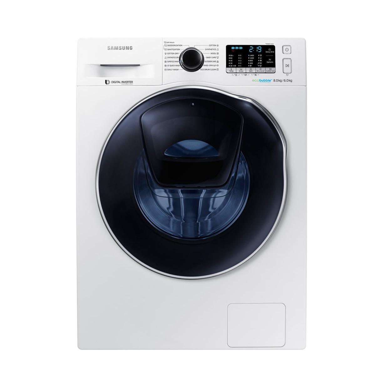 Samsung mašina za pranje i sušenje WD80K5410OW/LE - Inelektronik