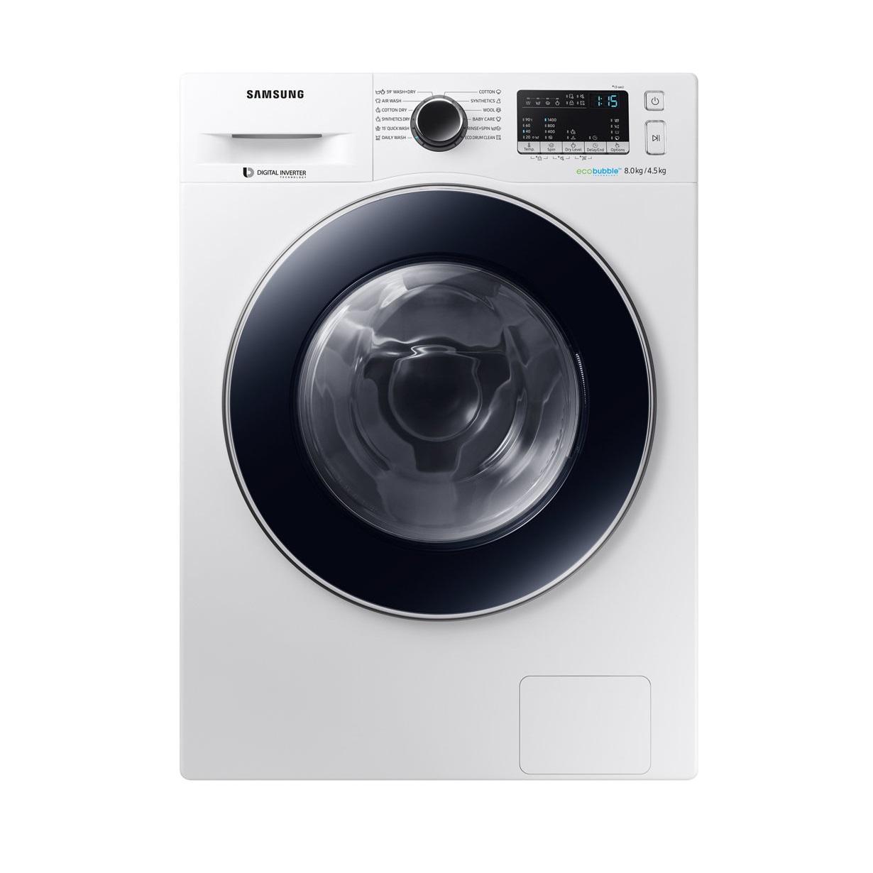 Samsung mašina za pranje i sušenje WD80M4A43JW LE - Inelektronik