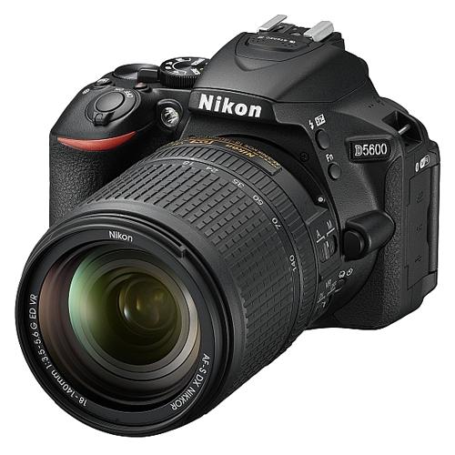 NIKON  D5600 (Crna) + 18-140mm - Inelektronik