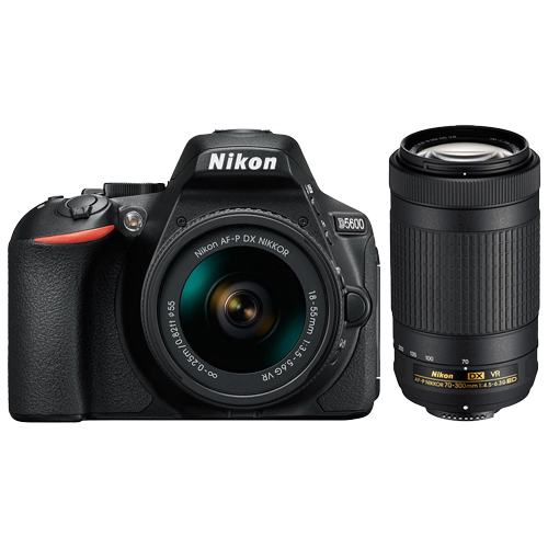 NIKON D5600 (Crna) + 18-55mm  - Inelektronik