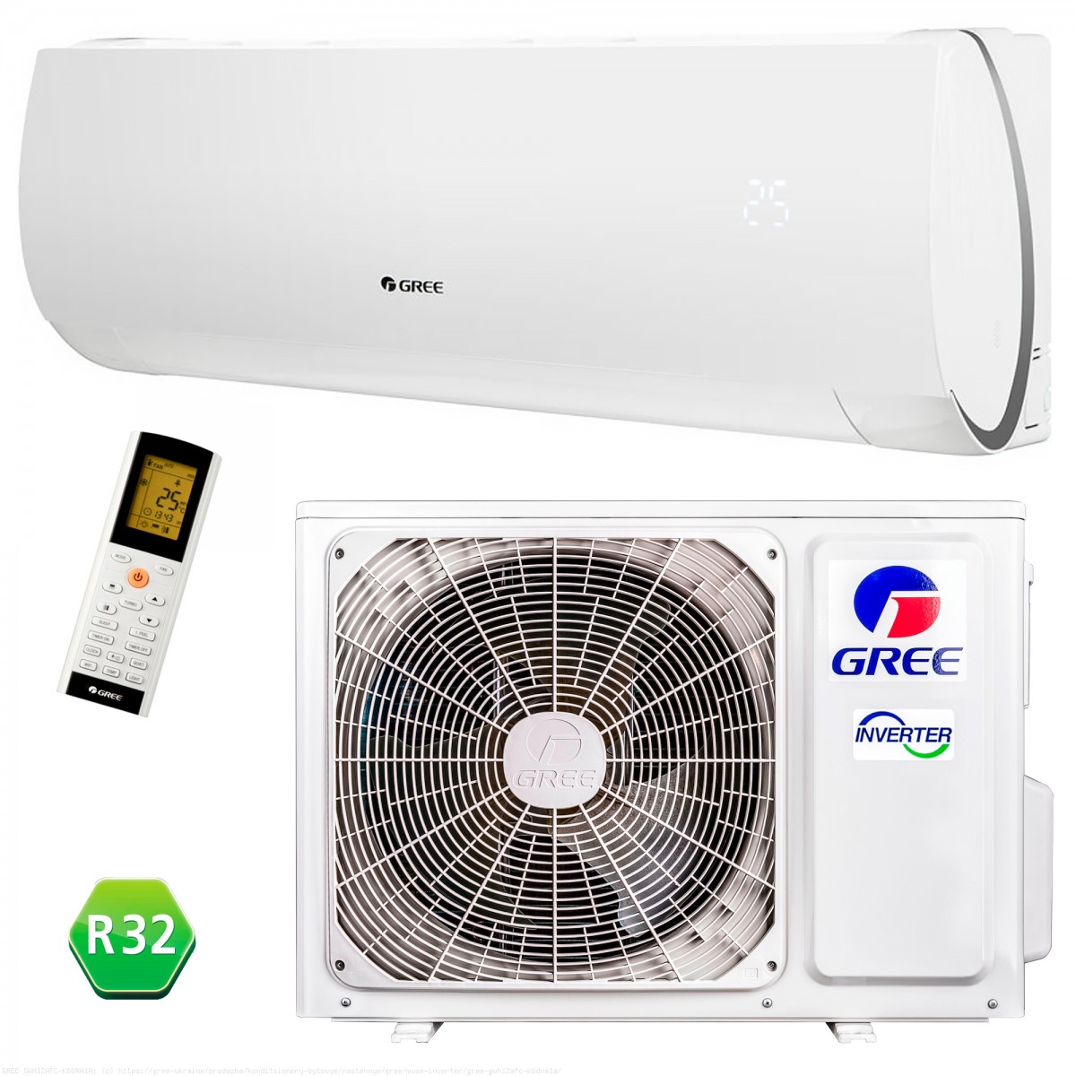 Gree klima uređaj GWH09AFA MUSE  - Inelektronik