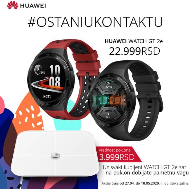 Huawei pametni sat WATCH GT 2e Grafit crni - Inelektronik