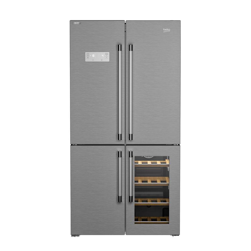 Beko side by side frižider GN 1416220 CX - Inelektronik