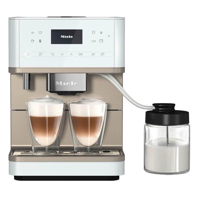 Miele aparat za kafu CM 6360 MilkPerfection beli - Inelektronik