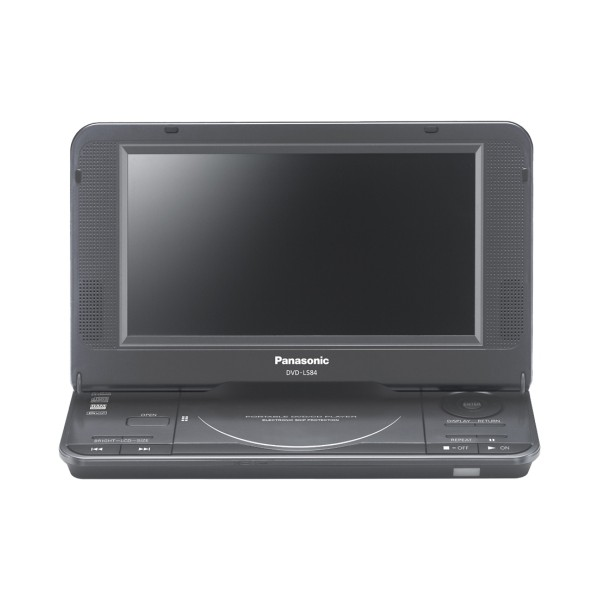 Panasonic portabl DVD player DVD-LS84EP-K - Inelektronik