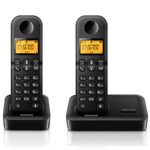 Philips bežični telefon D1502B 53 duo - Inelektronik