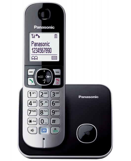 Panasonic bežični telefon KX-TG6811FXB  - Inelektronik